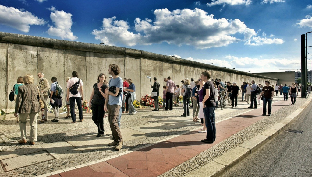 The Wall of Berlin